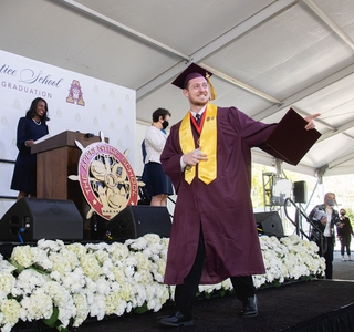 Photo Release -- Huntington Ingalls Industries Celebrates 154 Graduates of The Apprentice School at Newport News Shipbuilding in Drive-in Theater-style Ceremony