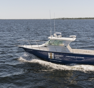 Multimedia Release — Huntington Ingalls Industries Debuts Proteus Unmanned Surface Test Vessel