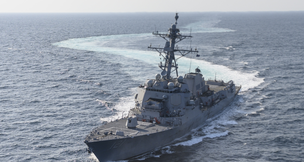 Ingalls Shipbuilding Successfully Completes Acceptance Trials for Frank E. Petersen Jr. (DDG 121)