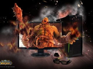 3D Vision 3D PC ASUS Monitor World Of Warcraft V2