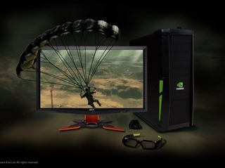 3D Vision 3D PC Acer Monitor Just Cause 2