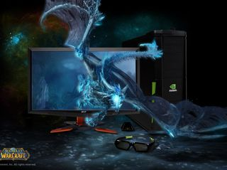 3D Vision 3D PC Acer Monitor World Of Warcraft