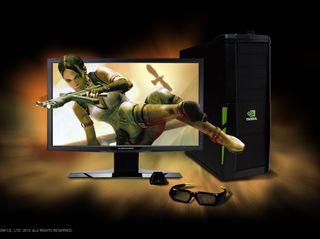 3D Vision 3D PC Alienware Monitor Resident Evil 5 V2