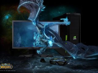 3D Vision 3D PC Alienware Monitor World Of Warcraft.