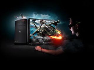 3D Vision 3D PC Platform Key Visual