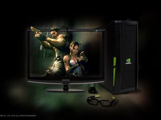 3D Vision 3D PC Samsung Monitor_Resident Evil 5