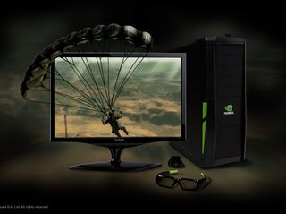 3D Vision 3D PC Viewsonic Monitor Just Cause 2