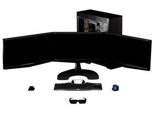 GeForce GTX 480 SLI Surround No Background