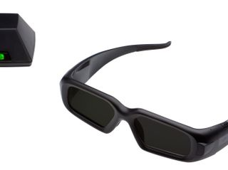 3D Vision Pro Glasses And Emitter