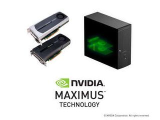 NVIDIA Maximus-powered workstation - NVIDIA Quadro + NVIDIA Tesla C2075