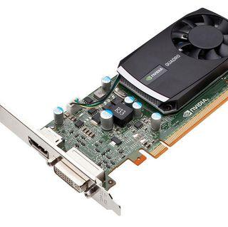 NVIDIA Quadro 400 - 3 quarter flat image
