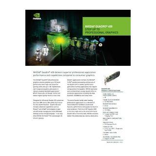 NVIDIA Quadro 400 datasheet