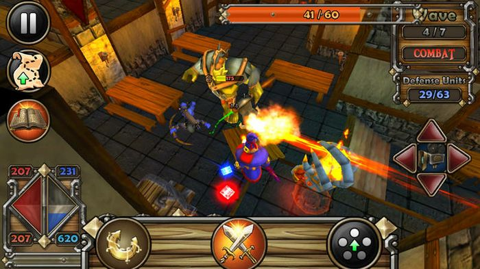 Tegra 2-optimized games, such as Dungeon Defenders, are available for consumers' super phones and tablets thru the Tegra Zone app.