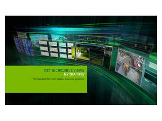NVIDIA Introduces NVS Business Graphics Solutions, Delivering Top Visual Fidelity Across up to Eight Displays