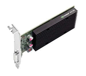 NVIDIA NVS 300 - top of card on side angle shot