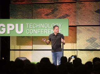 NVIDIA CEO Jen-Hsun Huang speaks at 2009 GPU Technology Conference.