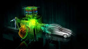 New Quadro professional graphics solutions and NVIDIA Fermi-Optimized Application Acceleration Engines - key visual
