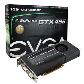The EVGA GeForce GTX 465 takes Fermi-based GPUs to new performance heights at new lower price points.