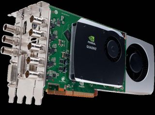 NVIDIA Quadro Digital Video Pipeline with NVIDIA Quadro FX 5800 pro graphics card