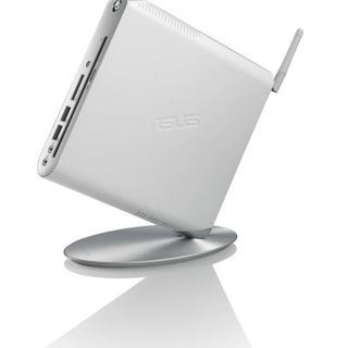 The ASUS EeeBox 1501P is among several compact desktop PCs to feature the new ION GPU.