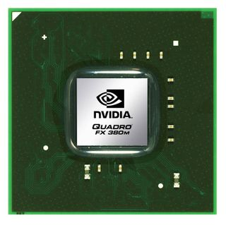 NVIDIA Quadro FX 380M professional graphics solution