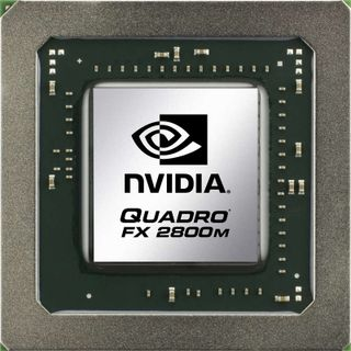 NVIDIA Quadro FX 2800M professional graphics solution