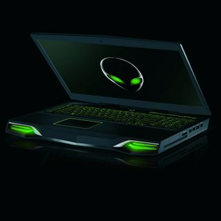 The Alienware M18x notebook will be available with the GeForce GTX 680M in single GPU or SLI configurations.
