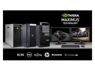 New NVIDIA Maximus workstations