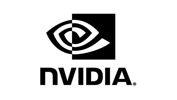 NVIDIA Logo Black & White