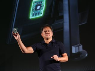 Jensen Huang and G-SYNC