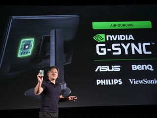 Jensen Huang Introduces NVIDIA G-SYNC