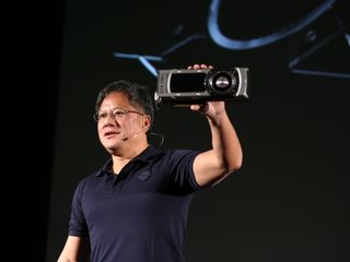 Jensen Huang And GeForce GTX 780 Ti