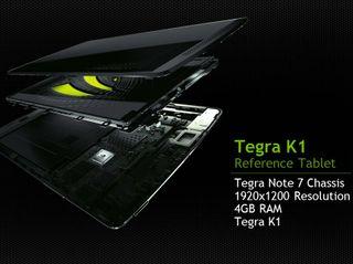 NVIDIA Tegra K1 Reference Tablet