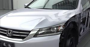 Honda render using NVIDIA Iray VCA