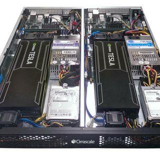 Cirrascale RM1905D ARM64 System With NVIDIA Tesla K20 GPU Accelerators