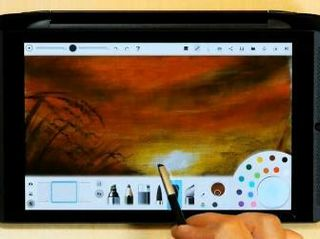 Watch as Amazing Art Takes Shape on SHIELD Tablet
