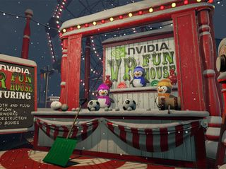 VR Funhouse Redecorates for Winter
