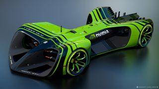 Roborace NVIDIA car
