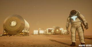 Mars 2030 VR still