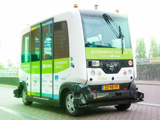 Best Way to Get Around Amsterdam? Self-Driving WEpods Come to GTC