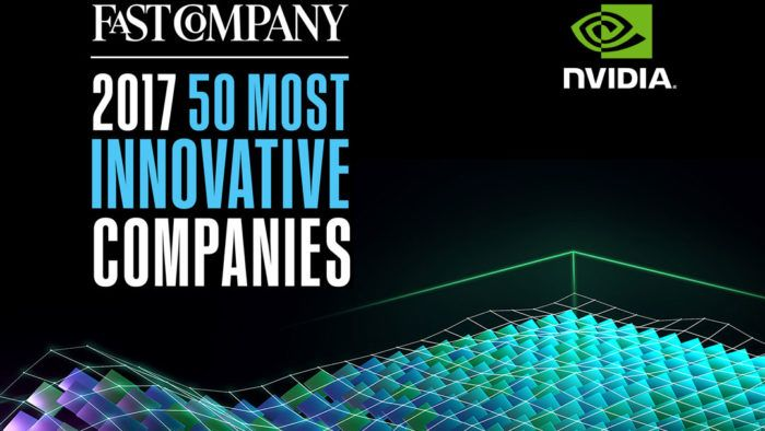 "NVIDIA Named to Fast Company's ""50 Most Innovative Companies"" List"