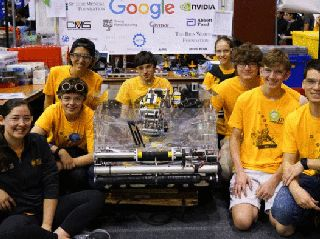 FIRST in Show: Students Battle Bots in Jules Verne-Inspired Robotics Competition