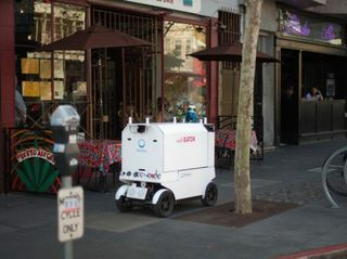 Meals on Wheels: Marble Robots Making Food Deliveries in SF Using NVIDIA Jetson