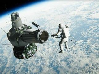 The Spacewalker: Gripping Tale of World's First Spacewalk, Powered by NVIDIA Quadro