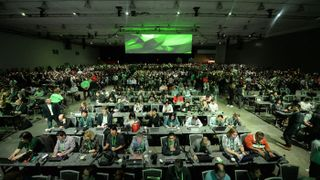 NVIDIA Accelerates AI, Launches Volta, DGX Workstation, Robot Simulator, More
