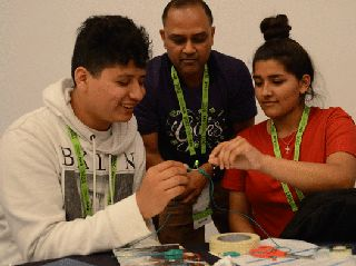 GTC Doubleheader: AI, Robotics Events Draws 300 Teen Technologists