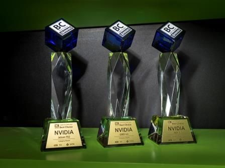At Computex 2017, Best Choice Awards were bestowed on NVIDIA Jetson TX2 AI supercomputer on a module, NVIDIA GRID 4.0 graphics virtualization platform and NVIDIA DGX-1 AI supercomputer.