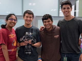 NVIDIA's High School Interns Spend Summer Creating Robots