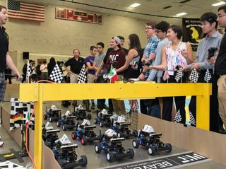 Teens Build, Race Miniature Self-Driving Cars at MIT Summer Program