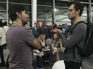 AI Devices that Walk, Roll and Fly — and Tacos — Draw Developers to NVIDIA HQ